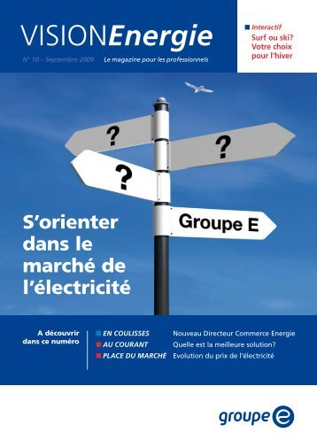 Vision Energie no 10 - Groupe E