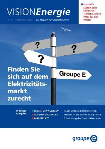 Vision Energie Nr. 10 - Groupe E