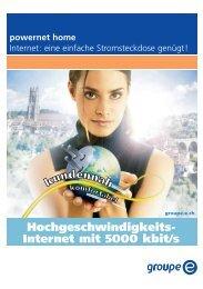 powernet home - Groupe E