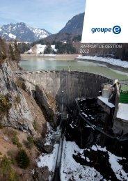 RappoRt de gestion 2012 - Groupe E