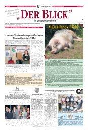 BLICK Ausgabe 01-14