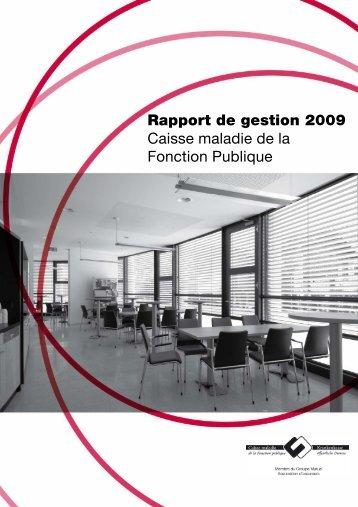 Caisse maladie de la Fonction Publique 2009 - PDF - Groupe Mutuel