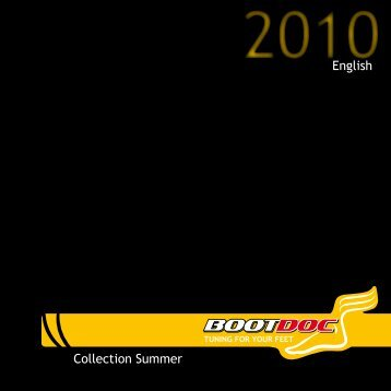 Sommer Kollektion 2010 - Boot Doc