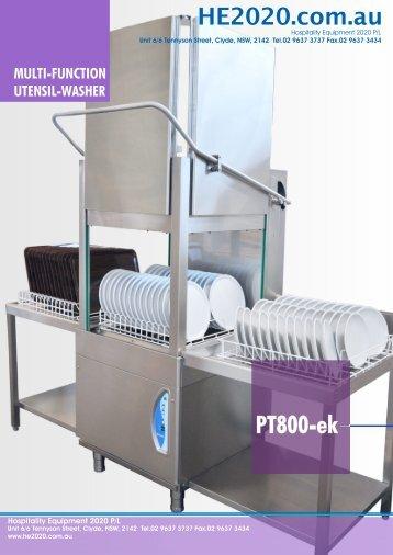 Utensil Washer PT800EK - Group Maintenance