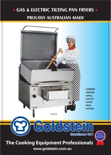 Bratt Pan Tilting Fryers - Group Maintenance