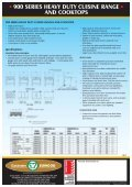 900 Series Heavy Duty Cuisine Range - Group Maintenance - Page 2