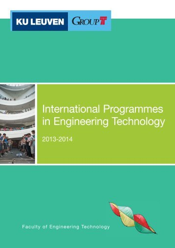 Download International programmes Engineering Tech (pdf) - Groep T