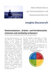 Insight Discovery - Grow.up. Managementberatung GmbH