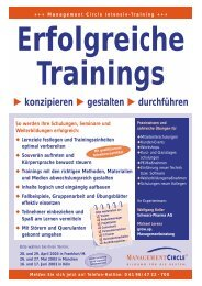 Erfolgreiche Trainings - Grow.up. Managementberatung GmbH