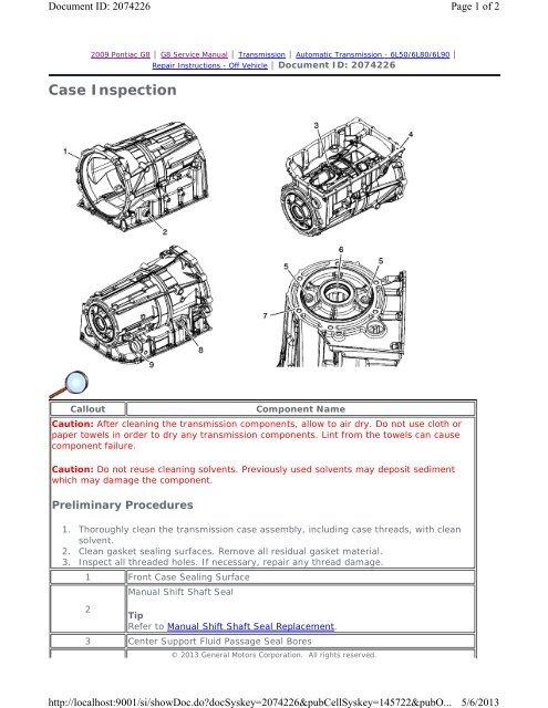 Case Inspection - GRRRR8 net
