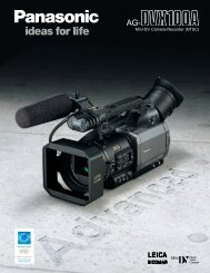 Mini-DV Camera-Recorder (NTSC) - GRS Systems