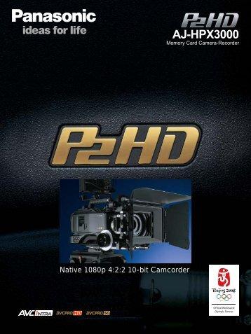 AJ-HPX3000 Brochure - Panavision