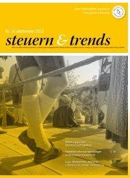 Steuern & Trends September 2013 - Gruber & Partner ...