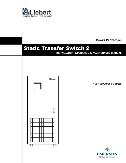 Static Transfer Switch 2 Users Manual, Proximity Switch Wiring Nms
