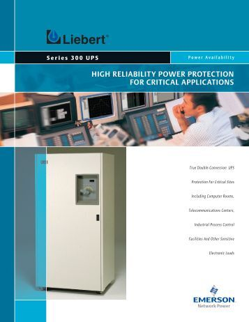 high reliability power protection for critical applications - Gruber Power