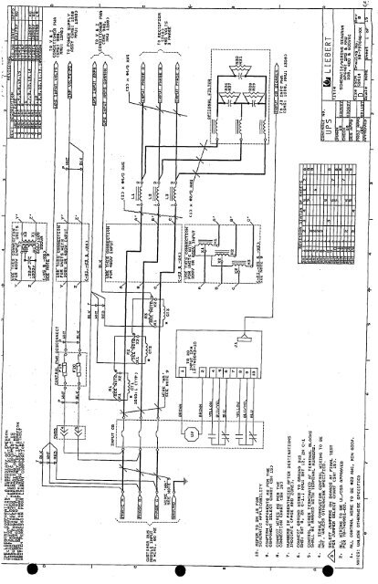 liebert schematic wiring diagram pdf gruber power Liebert Battery Wiring Diagram