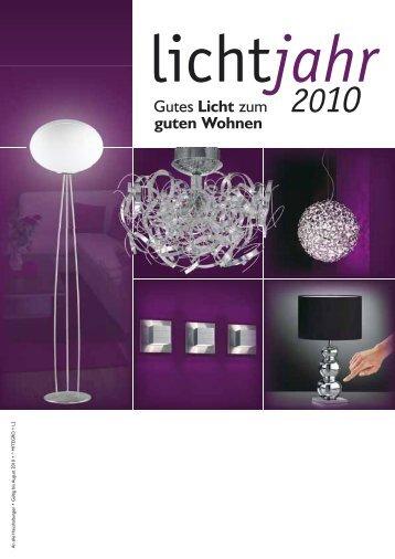 Gutes Licht zum guten Wohnen - Elektro Sturm GmbH