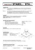 ® STABIL-12 STA-12 - Page 4