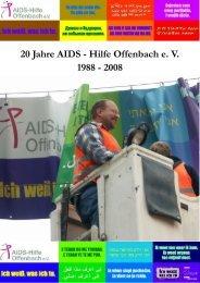 Zwei von uns sind gestorben - AIDS-Hilfe Offenbach eV - Deutsche ...