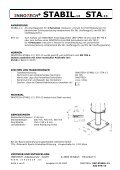 ® STABIL-13 STA-13 - Page 4
