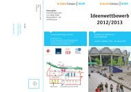 Ideenwettbewerb 2012/2013 - GründerCampus Ruhr