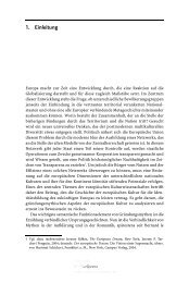 Einleitung (pdf) - Gründungsmythen Europas in Literatur, Kunst und ...