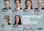 KomPetent und gerecht - Grüne Partei Basel-Stadt