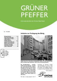 Ausgabe Mai 2008 - Grüne Partei Basel-Stadt