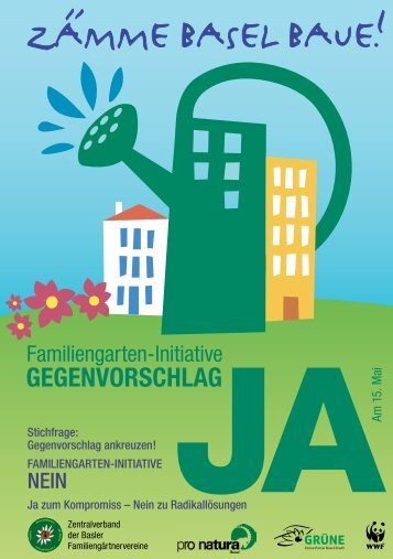 GEGENVORSCHLAG - Grüne Partei Basel-Stadt