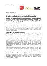 MMM SP-Grüne-BastA! - Grüne Partei Basel-Stadt
