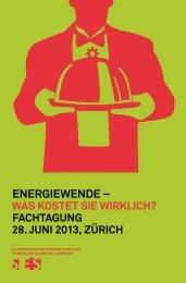 EnErgiEwEndE – - Schweizerische Energie-Stiftung