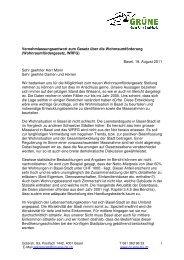 Vern. Wohnraumfördergesetz - Grüne Partei Basel-Stadt
