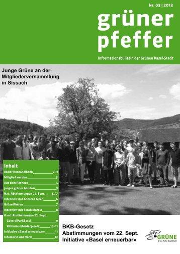 Nr. 03-2013 - Grüne Partei Basel-Stadt
