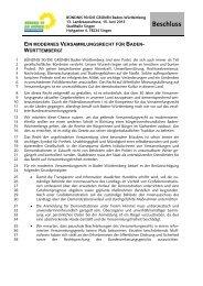 Ein modernes Versammlungsrecht für Baden-Württemberg! (PDF)