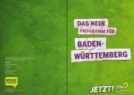 Die Grünen BW Wahlprogramm - BÜNDNIS 90/DIE GRÜNEN ...
