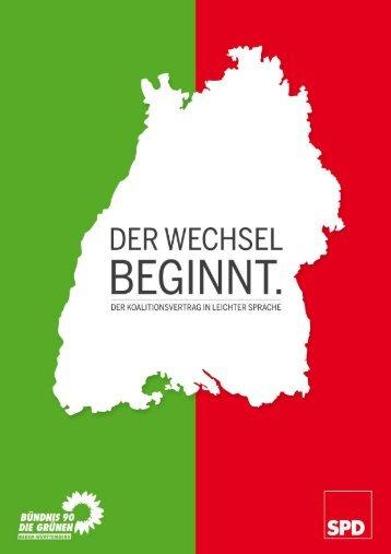 Wir machen neue Politik für Baden-Württemberg