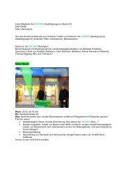 Berichte zu verschiedenen Aktionen (pdf-Datei)