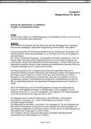 \(22.03.2011\) Armin van Leeuwen - Antwort Fluglärm-Bü90-Grü