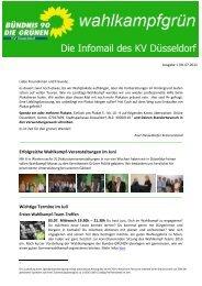 direkt zur Juli-Ausgabe - Bündnis 90/Die Grünen Düsseldorf