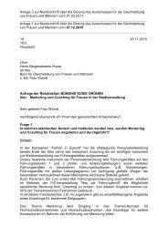 Anfragen der Verwaltung - Bündnis 90/Die Grünen Düsseldorf
