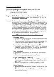 Antworten (Download als PDF - Bündnis 90/Die Grünen Düsseldorf