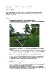 Stadtteilgruppe am 24. Mai 2013 - Bericht (pdf-Datei)