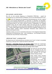 Informationen zur Verkehrssituation mit der U81 (pdf)