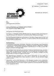 Vorlage 001/ 11/2011 X öffentlich nicht öffentlich - Bündnis 90/Die ...