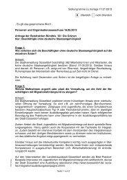 Antworten der Verwaltung - Bündnis 90/Die Grünen Düsseldorf
