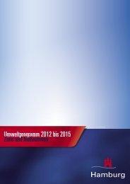 Umweltprogramm 2012 bis 2015 ziele und Maßnahmen - WUZ