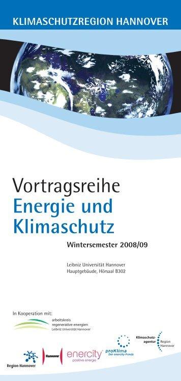 Vortragsreihe Energie und Klimaschutz - Grüne in der Region ...