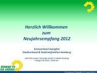 Präsentation von Marc Piazolo zum ... - Grüne Homburg