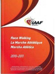 Una guía para Jueces, oficiales, entrenadores y atletas
