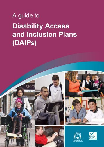 DAIPs - Disability Services Commission